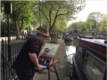 Painting in Little Venice